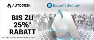 Autodesk Cyber Week - 25% auf 3ds Max & Maya